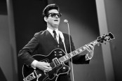 No Merchandising. Editorial Use Only Mandatory Credit: Photo by ITV/REX/Shutterstock (737736gz) Roy Orbison in 'The Palladium Show' ITV ARCHIVE